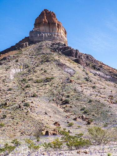 Cerro Castellan (Castolon Peak)