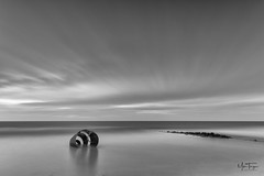 Winter Shell. (miketonge) Tags: marysshell cleveleys fylde lancashire sea tide rocks irishsea nik nisi longexposure nikon d850