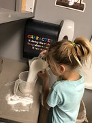 IMG_9128 (NewSchoolAR) Tags: first graders science lower school experiment steam