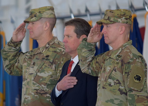 The Commander in Chief by Georgia National Guard, on Flickr