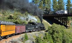 Durango & Silverton Narrow Gauge Railroad (M McBey) Tags: durango silverton railroad railway colorado rockies mountains narrowgauge historic steam loco train excursion smoke
