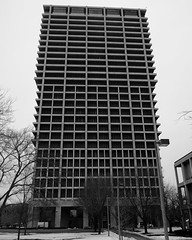 UIC University Hall (RW Sinclair) Tags: 2019 chicago february fuji fujifilm fujinon ilc mirrorless winter xt1 xf xf1855 zoom architecture brutalism brutalist building
