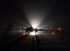 Luces y sombras. (joseramongonzalez544(Checha)) Tags: nocturna nikon d850 lest luces aviation ala15 ejercito del aire colors color 500mm nikkor f4 lavacolla checha