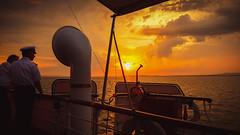 Bodensee Lake Constanze sunset (marcelweikart) Tags: bodensee lake constanze wasser water see lago hohentwiel schiff color farbe sunset neu new schweiz deutschland österreich germany austria