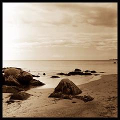 e verso sera.... (Claudio Taras) Tags: hasselblad501cm film fomapan filmisnotdead bokeh bw biancoenero mediumformat 6x6 shadow sepia santeodoro mare spiaggia claudio taras 80mm