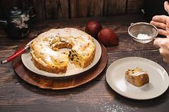 pear and raisin bundt cake.jpg (skilletsandpots) Tags: food meal recipes halthyrecipes