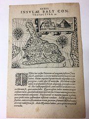 1601 Insula Baly - first map of Bali (The Rare Book Detective: books, type, watermarks) Tags: earlyraremaps maps atlas antiquarianmaps rarebooks cartes cartesgeographiquesgeography bali