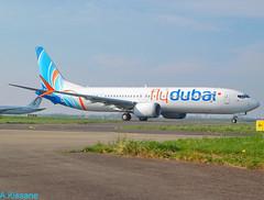 FLYDUBAI B737-9MAX A6-FNC (Adrian.Kissane) Tags: flydubai shannon b737 2722019 a6fnc 60983
