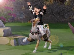 Winter and Coopie (Linayum2.0) Tags: thesims thesims4 ts4 ts4pictures mysims simmer game juego virtual virtuallife virtualgame pets linayum