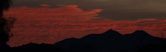 Sunrise 2 13 19 #07 Panorama (Az Skies Photography) Tags: rio rico arizona az riorico rioricoaz canon eos 80d canoneos80d eos80d canon80d cloud clouds red orange yellow gold golden salmon black february 2019 sky skyline skyscape arizonasky arizonaskyline arizonaskyscape sun rise sunrise morning dawn daybreak arizonasunrise 13 february132019 21319 2132019 panorama