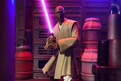 Master Windu (chevy2who) Tags: master jedi blackseries series black windu mace actionfigure toyphotography toy wars star