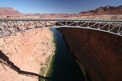 Navaho Bridge (geneward2) Tags: navaj bridge arizona river