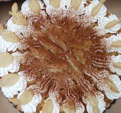 Jablková tortička so šľahačkou