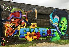 Chillax by Max Sansing, Sobe & Omen74 (wiredforlego) Tags: omen74 graffiti mural streetart urbanart aerosolart publicart chicago illinois ord maxsansing sobe