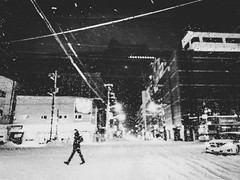 iPhone (leicafanboy..) Tags: japanese japan モノクローム monochrome iphone b&w winter snow