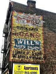 """Cincinnati, Ohio 2019 (STREET MASTER) Tags: cincinnatiohio ohio graffiti night ghost sign """"overtherhine"""" vintage building handpainted"""