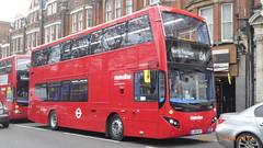 P1150414 VMH2546 LA68 DXY at Highgate Station Archway Road Highgate London (LJ61 GXN (was LK60 HPJ)) Tags: metroline volvob5lhybrid mcv evoseti mcvevoseti 105m 10490mm vmh2546 la68dxy nb951