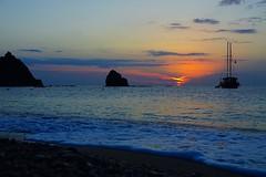 Seascape (prokhorov.victor) Tags: утро рассвет солнце море природа пейзаж вода небо парусник берег