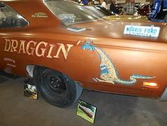"1969 Plymouth Road Runner ""Draggin'"" (splattergraphics) Tags: 1969 plymouth roadrunner hemi bbody mopar draggin racecar dragcar carshow eastcoastindoornationals marylandstatefairgrounds timoniummd"