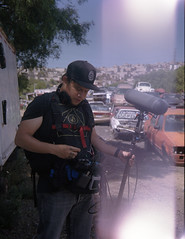 marzo2019-fervelo (Quemedicenaxel) Tags: zeiss superikonta super ikonta 6x45 zeisssuperikonta kodak portra 160 portra160 kodakportra filmmaking behind scenes making behindthescenes makingof