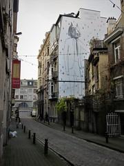 Dominique Goblet / Bruxelles - 22 dec 2018 (Ferdinand 'Ferre' Feys) Tags: bxl brussels bruxelles brussel belgium belgique belgië streetart artdelarue graffitiart graffiti graff urbanart urbanarte arteurbano ferdinandfeys