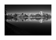 Jackson Lake, Grand Teton National Park, WY (Joe Franklin Photography) Tags: jacksonlake grandtetonnationalpark lake wyoming wy blackandwhite almostanything nationalpark joefranklin wwwjoefranklinphotographycom