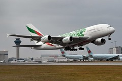 A6-EOL Airbus A380-861 at CYYZ (yyzgvi) Tags: a6eol airbus a380861 emirates airline cyyz yyz toronto pearson dubai expo 2020