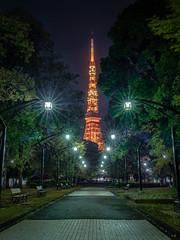東京鐵塔 Tokyo Tower (里卡豆) Tags: olympus penf 17mm f12 pro olympus17mmf12pro 日本 關東 japan kanto tokyotower 東京鐵塔 東京都 東京市 東京 鐵塔