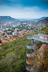 Path (@Dpalichorov) Tags: village city town bulgaria provadia българия провадия tower fortress castle stairs path walk spiral walkway sky clouds blue green trees forest mountain mountains cloud tree house houses nikond3200 nikon d3200 nature landscape view panorama wide angle wideangle