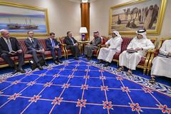 Secretary Pompeo Meets With Qatari Foreign Minister Sheikh Mohammed bin Abdulrahman Al Thani (U.S. Department of State) Tags: mikepompeo qatar
