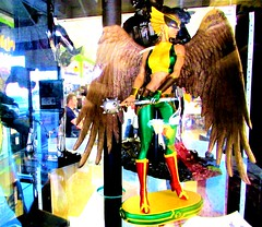Hawkgirl (thomasgorman1) Tags: figure action superhero store dc toy display hawkgirl comics