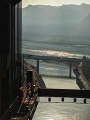 Three Gorges Dam Ship Elevator Yichang China 01 (Barbara Brundage) Tags: three gorges dam ship elevator yichang china 01