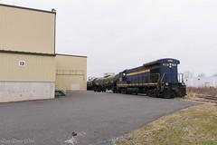 Muskett Empties (Dan A. Davis) Tags: eastpennrailroad espn eastpenn b237 railroad train langhorne freighttrain quakertown pa pennsylvania
