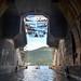 Abandoned submarine base in the bay of Kotor, Montenegro