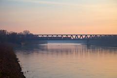 DB 146 + RB 16406 Burg -  Braunschweig Hbf  - Magdeburg Elbebrücke (Rene_Potsdam) Tags: magdeburg sachsenanhalt railroad treinen trains br146 deutschland europe europa trenes züge elbe