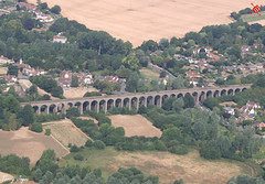 Chappel Viaduct (Essex Explorer) Tags: aerial img9105 chappelviaduct chappel wakescolne essex