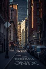 Urban city, NY (reinaroundtheglobe) Tags: ny nyc newyork manhattan downtown urban urbancity street road streetphotography reiniersnijders reinaroundtheglobe buildings architecture daytime sunlight