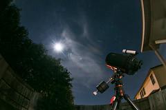 20190120_19750 (AWelsh) Tags: lunar eclipse 2019 astrophoto andrewwelsh canon5dmkiii san antonio tx telescope moon night sky stars peleng 8mm fisheye