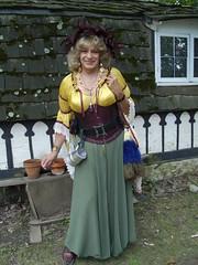One Of my Direct Ancestors From 500 Years Ago (Laurette Victoria) Tags: blonde renfaire woman laurette costume bristol