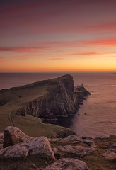 Go West (Captain Nikon) Tags: sunset neistpoint neistpointlighthouse lighthouse isleofskye skye scottishhighlands scotland westerly greatbritain landscapes viewpoint nikonphotography