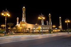 "The parents Mosque ("" Don Quixote "") Tags: مسجدالوالدين تبوك السعودية mosque islam muslim saudi arabia tabuk masjid night light street building arab"
