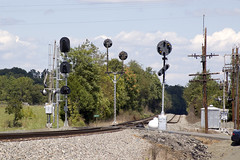 08-0165 (George Hamlin) Tags: virginia ashby old railroad signals cpl color position light safetrans darth vader track sky trees ballast norfolk southern railway photo decor george hamlin photography