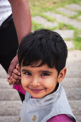 (bhanuprakash.in) Tags: little kid young boy cute smile dressed up wedding attire canon 50mm portrait portraiture eyes
