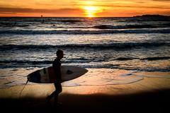 L'ombre du surfeur