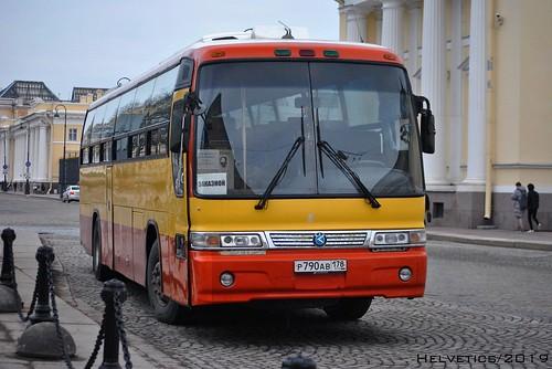 Kia Granbird - Russia, Saint-Petersburg