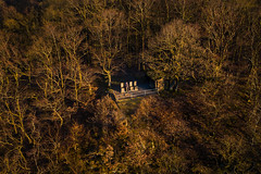 Living room in the woods (Pascal Riemann) Tags: abendstimmung deutschland stimmung see drohne landschaft wald natur edersee germany landscape nature outdoor drone eveningmood forest lake mood edertal hessen de