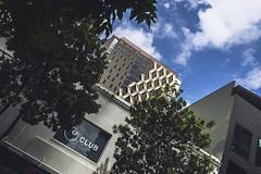 Golden (Leighton Wallis) Tags: sony alpha a7r mirrorless ilce7r 55mm f18 emount 1635mm f40 brisbane qld queensland australia city gold cladding building feature