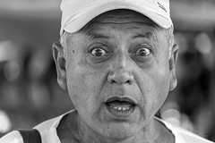 Clowning Around 2 (_aires_) Tags: lunahuaná limaregion peru pe aires man makingfaces expression iris cap portrait canoneos5dmarkiv canonef2470mmf28liiusm lunahuanácañeteperu