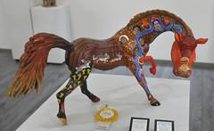 Wooden Horse Caballo Oaxaca Mexico (Teyacapan) Tags: woodcarvings oaxaca mexican museum coyotepec animals horses artesanias