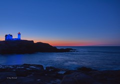 Nubble Light (RayTheriault) Tags: maine nikon nikond810 nature nubblelight chester sunrise 50 60 70 24120